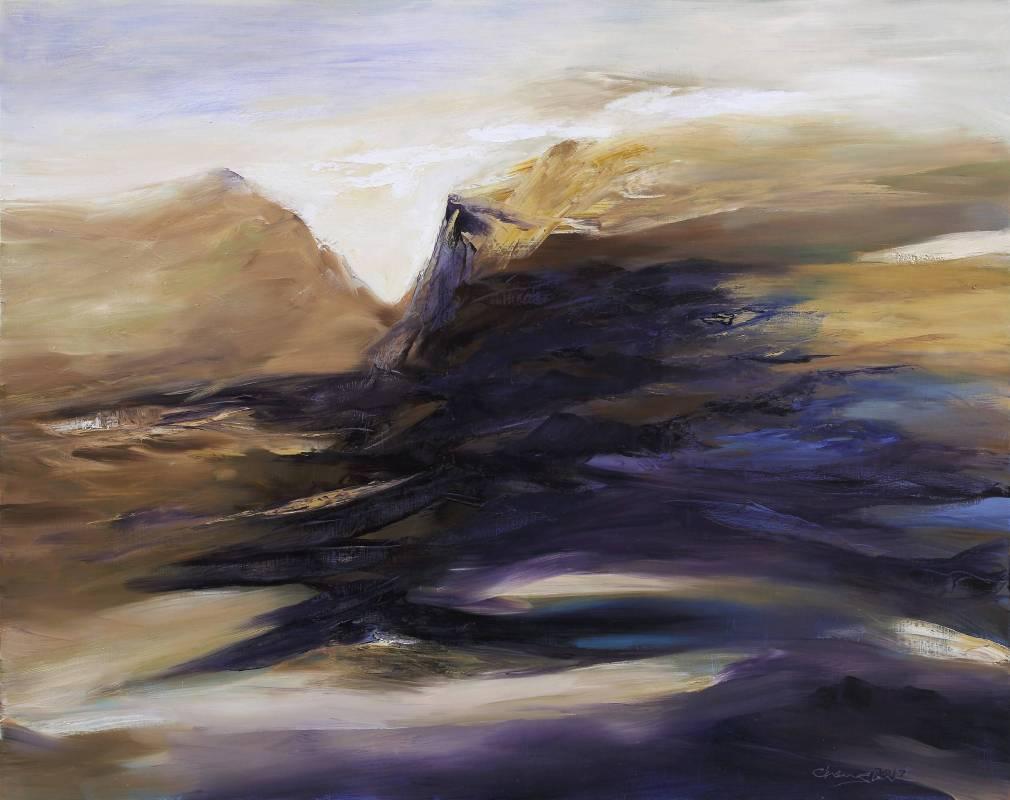 塵三Chen San│存在與時間 Being and Time│162.5x130cm│油畫Oil  on canvas│2017
