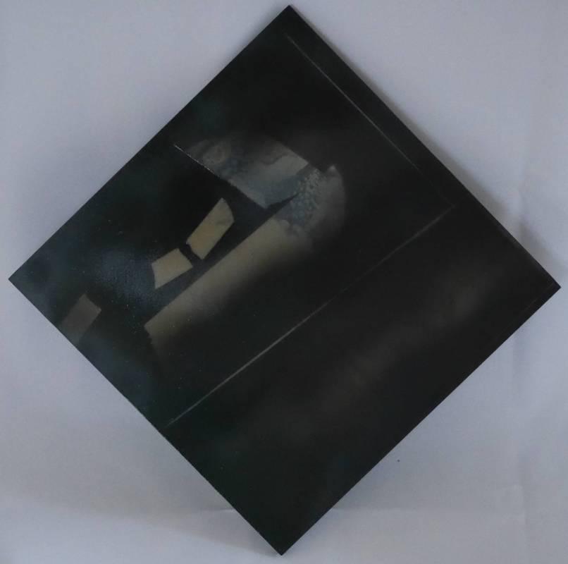 17-45, 格物系列二, 30x30cm, 複合媒材, 2017