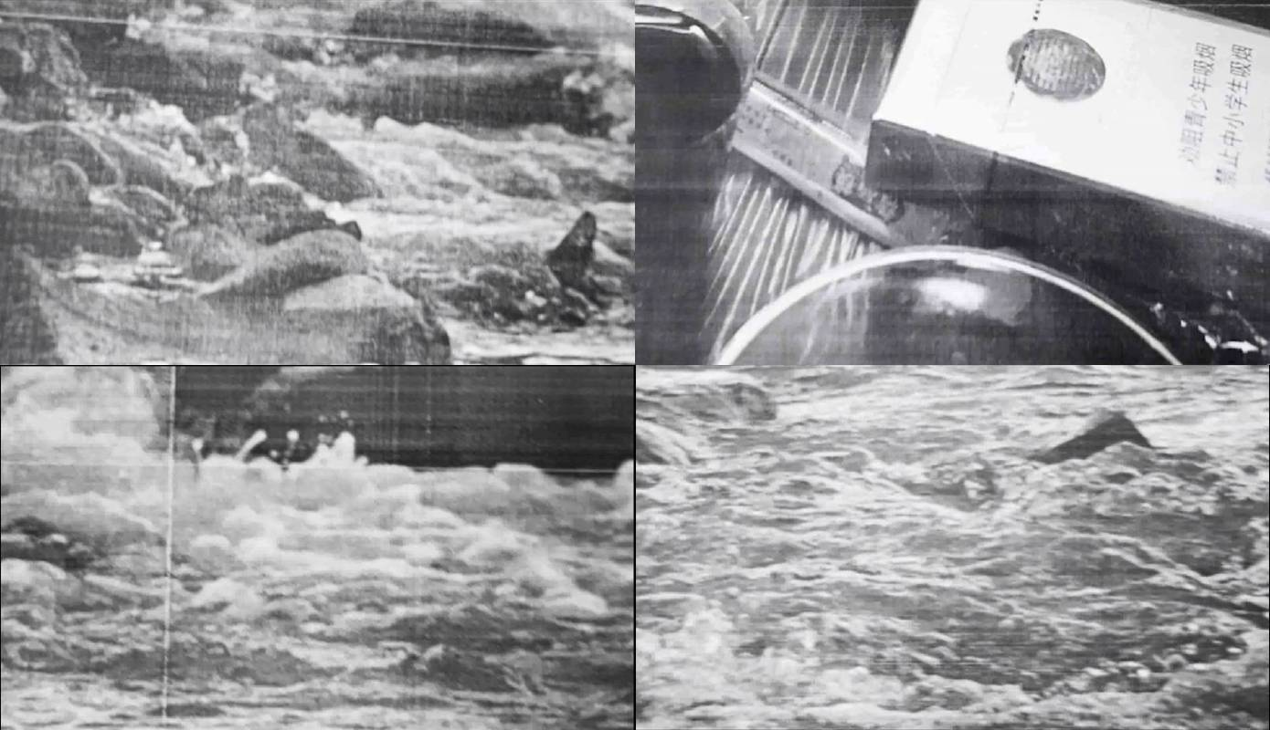 陳彧君 Chen Yujun_木蘭流水No. 2 Mulan Drift No.2_錄像截幀 Video stills_2017_黑白無聲影像 Video, black and white, silent_1'02''
