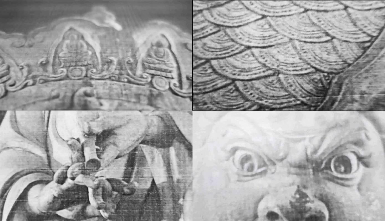 陳彧君 Chen Yujun_木蘭流水No.1 Mulan Drift No.1_錄像截幀 Video stills_2017_黑白無聲影像 Video, black and white, silent_1'16''
