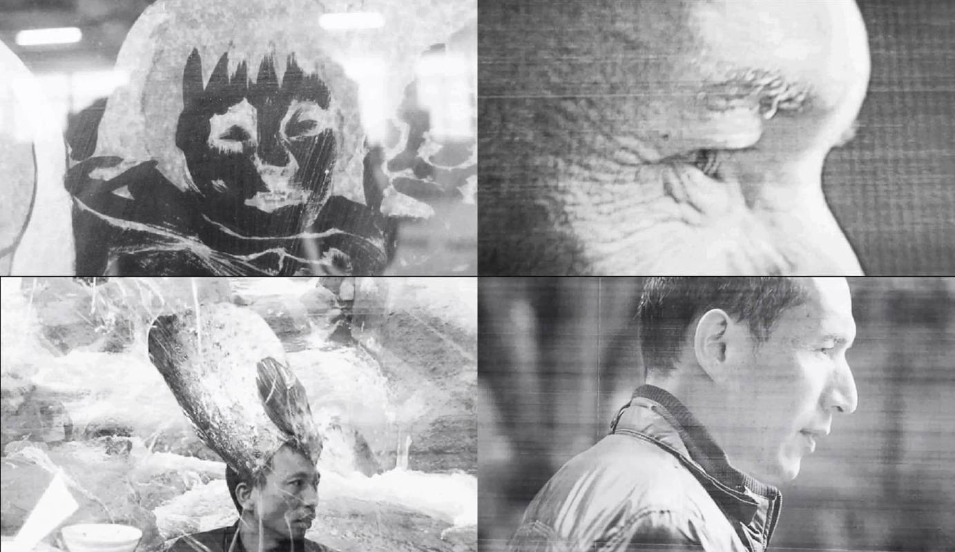 陳彧君 Chen Yujun_木蘭流水No.3 Mulan Drift No.3_ 錄像截幀 Video stills_2017_黑白無聲影像 Video, black and white, silent_5'23''