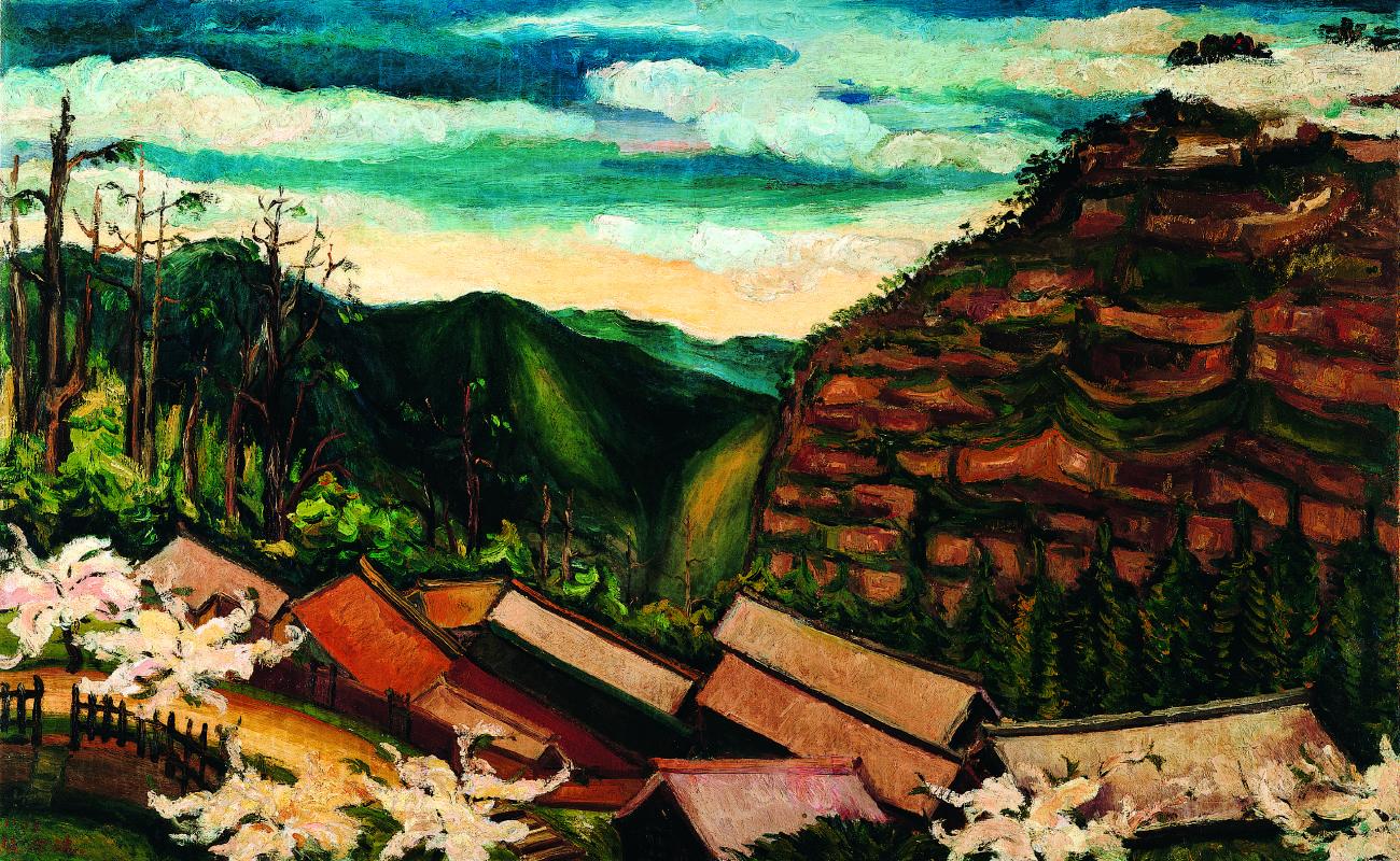 陳澄波 阿里山之春 1935 油彩畫布 80×128cm