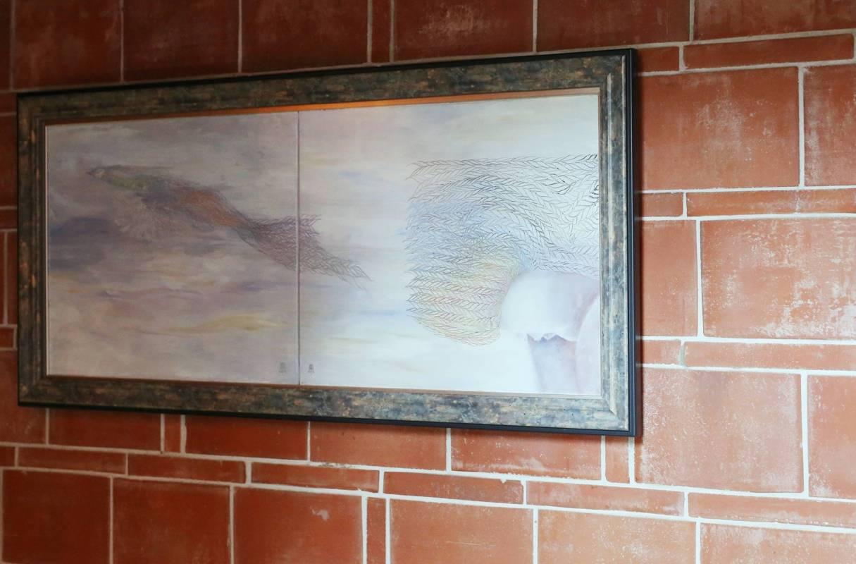 王雯 反虛入渾II 油彩.畫布《展示於 同心樓》