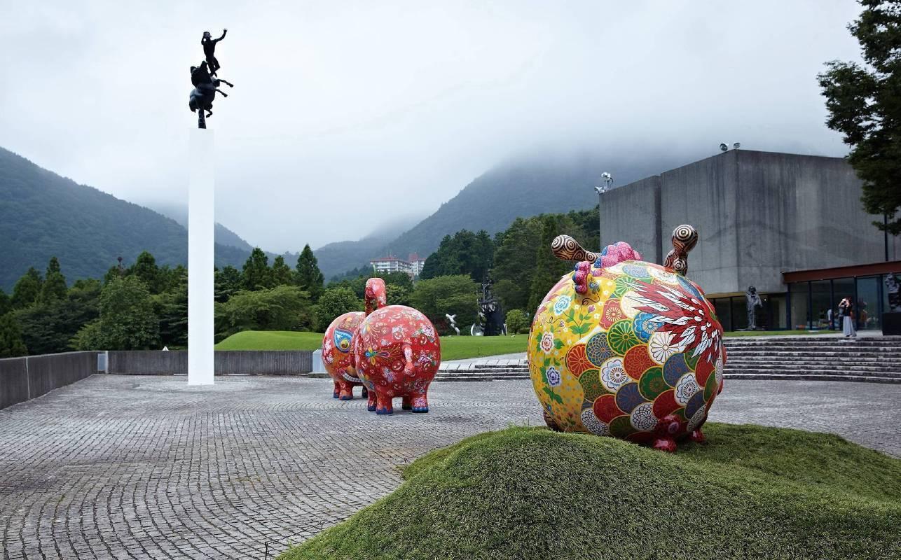 2013 日本雕刻之森美術館戶外展區
