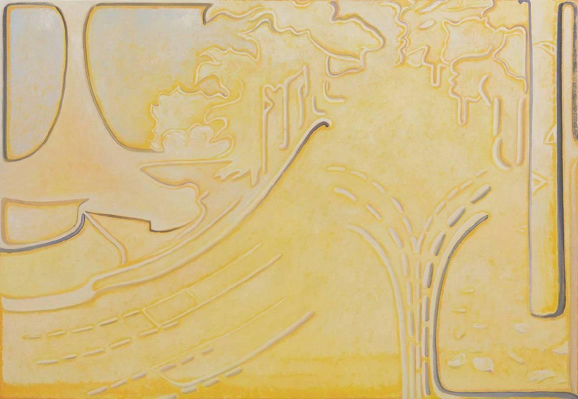 贺勋HeXun_莫兰迪--深秋Morandi-Deep Autumn _2017_布面油画(图片由艺术家与亚洲当代艺术空间提供Courtesy of artist and A+ Contemporary)