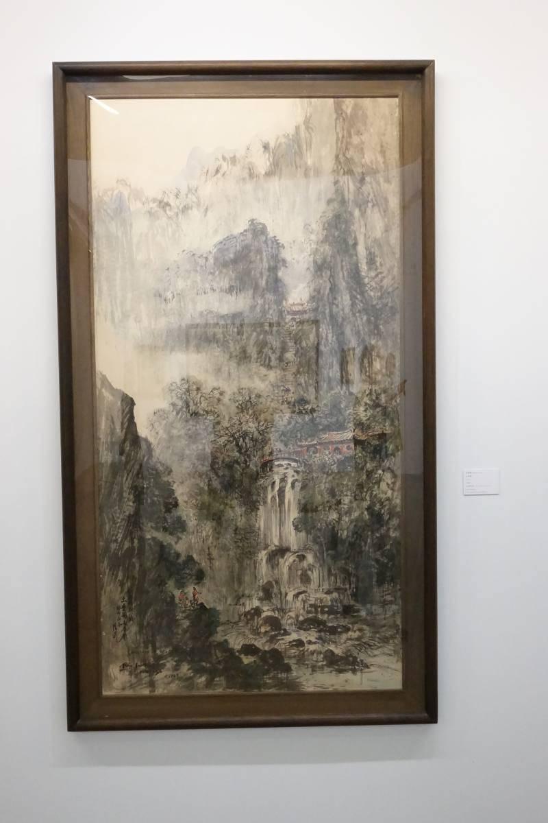藍蔭鼎,《太魯閣》,1963