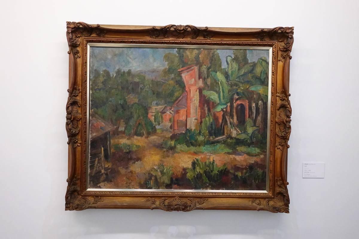 陳植棋,《風景》,1925 - 1930