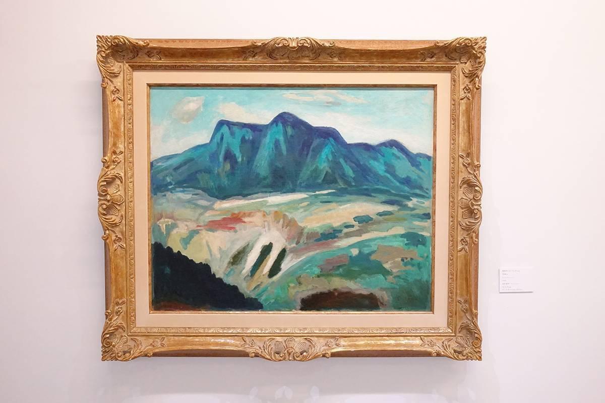 劉啟祥,《馬頭山》,1965