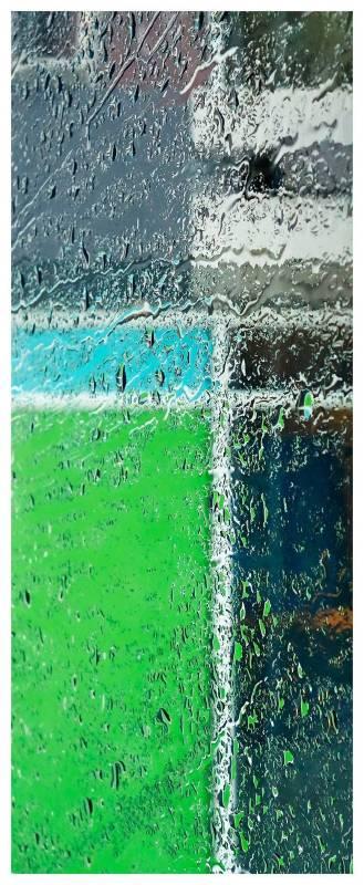 印象派蒙德里安, 35x80cm, 高階藝術微噴於William Turner無酸館藏蝕刻藝術紙, 2015