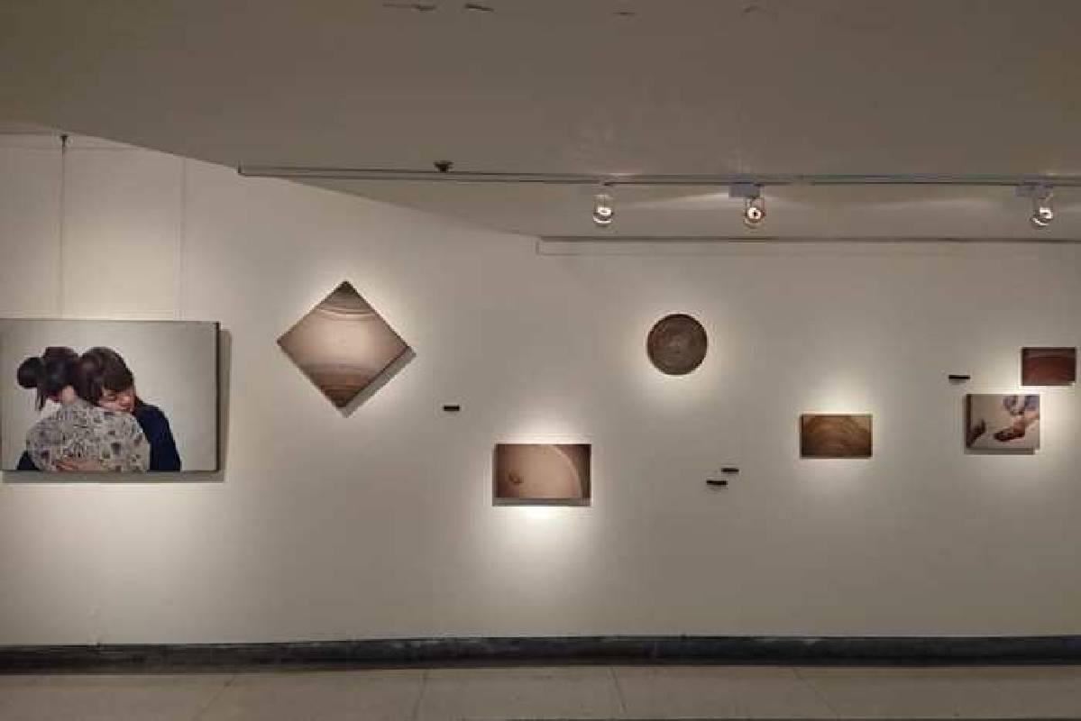 彰師大美術學系劉彥宜作品「微乎其微的小事」。