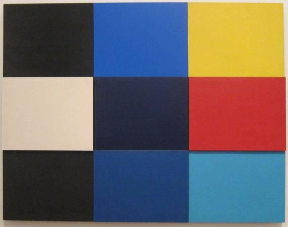 Ellsworth Kelly,《Méditerannée》,1952,Tate Modern。圖/取自Wikipedia