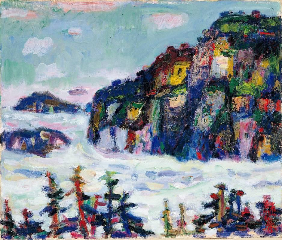廖繼春 雲海(阿里山) 1973 油彩畫布 45.5×53cm