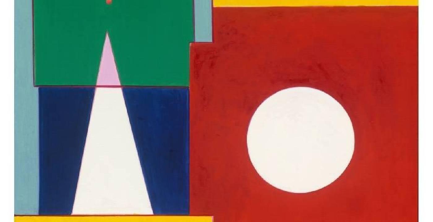 霍剛 抽象2017-017 130x160cm 油彩、畫布 2017