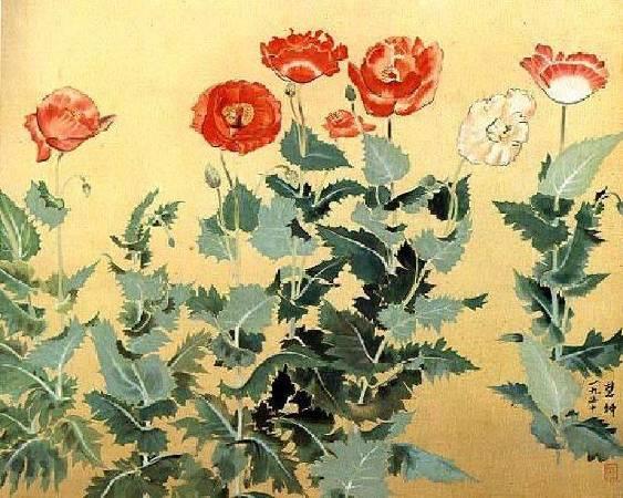 陳慧坤,《虞美人草》。圖/來自本站。