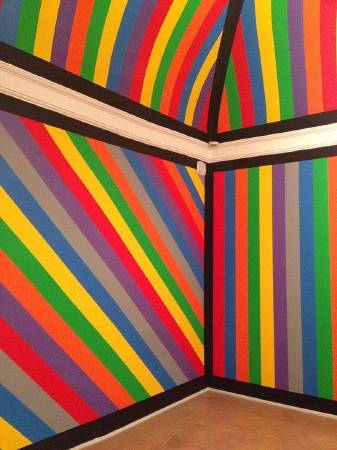 Sol LeWitt,《Wall drawing》。