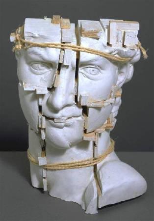 Eduardo Plaolozzi,《Michelangelo's 'David'》,1987。圖/取自Wikiart。