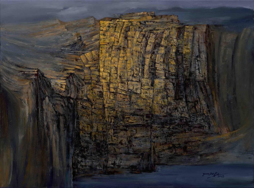 無懼 Fearless V | 油畫 Oil on Canvas |  162 x 120 cm 100號F |  2018