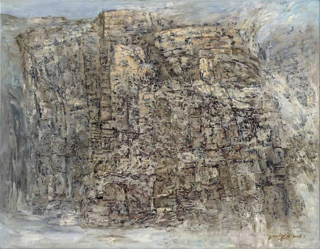無懼 Fearless VIII | 油畫 Oil on Canvas |  116.5 x 91 cm 50號F |  2018