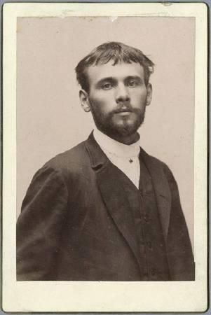 Gustav Klimt。圖/取自Wikipedia。