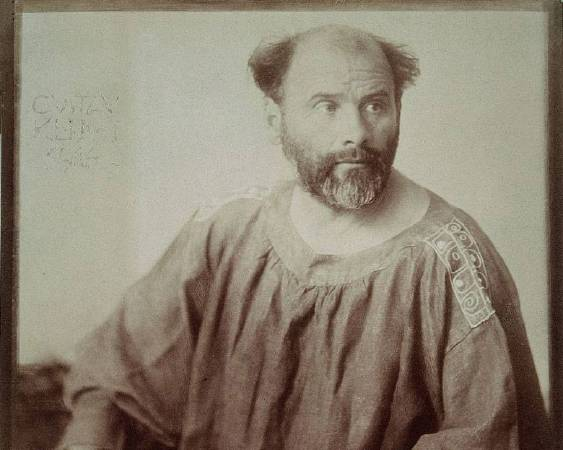 Gustav Klimt。圖/取自https://commons.wikimedia.org/wiki/File:Klimt.jpg