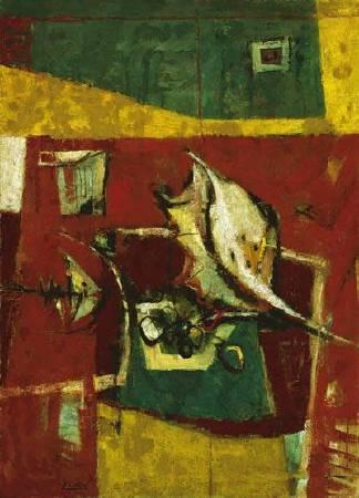 陳銀輝陳銀輝,《海鮮》,1967。圖/臺北市立美術館
