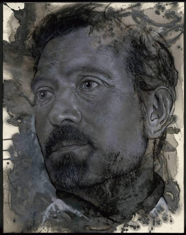 陳羽希,《思行3號_遠方的彼岸 》,油畫/ 91 x 72.5 cm <30F>