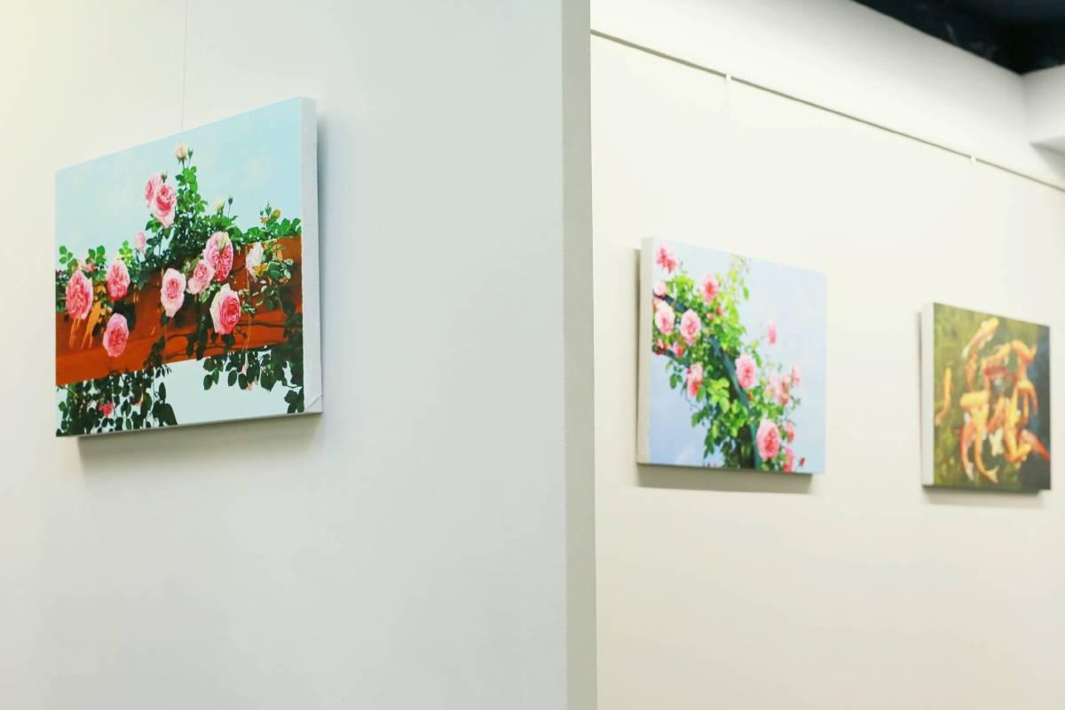 【清穹‧浩淼】林嶺森個展 展覽場景