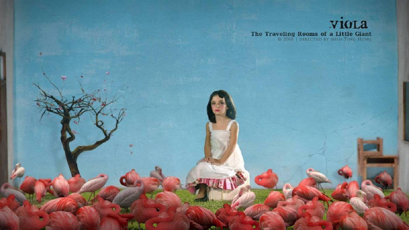 洪詩婷,維奧拉:旅行房間的意義,2008,多媒體,8min47sec。圖/尊彩藝術中心提供