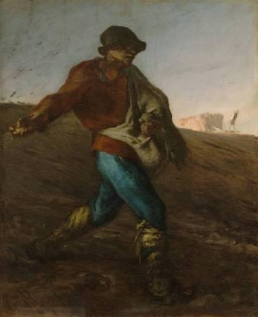 《播種者》(The Sower)。圖/取自wikimedia。