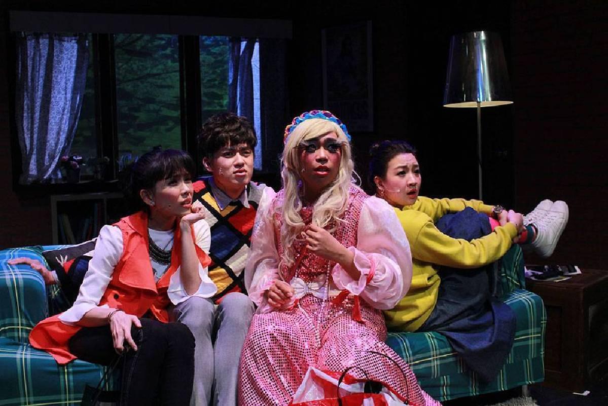 高雄在地的音樂劇場「唱歌集」,由編劇暨導演吳維緯與團隊們帶來「唱歌集」首發原創影集式音樂劇《紐約台客》(NEW YORK…er)。照片/衛武營國家藝術文化中心提供