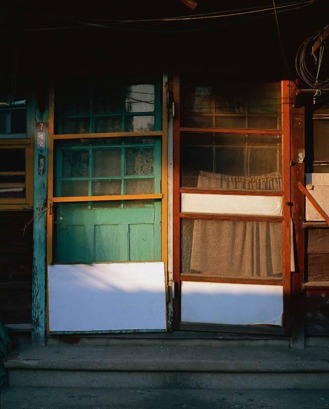 Bernard Bordenave 包德納 | 時光旅行者-北門日本舊房子 01 Time Traveler-Japanese House in Beimen 01|攝影 Photography|24.5x30cm|  1999