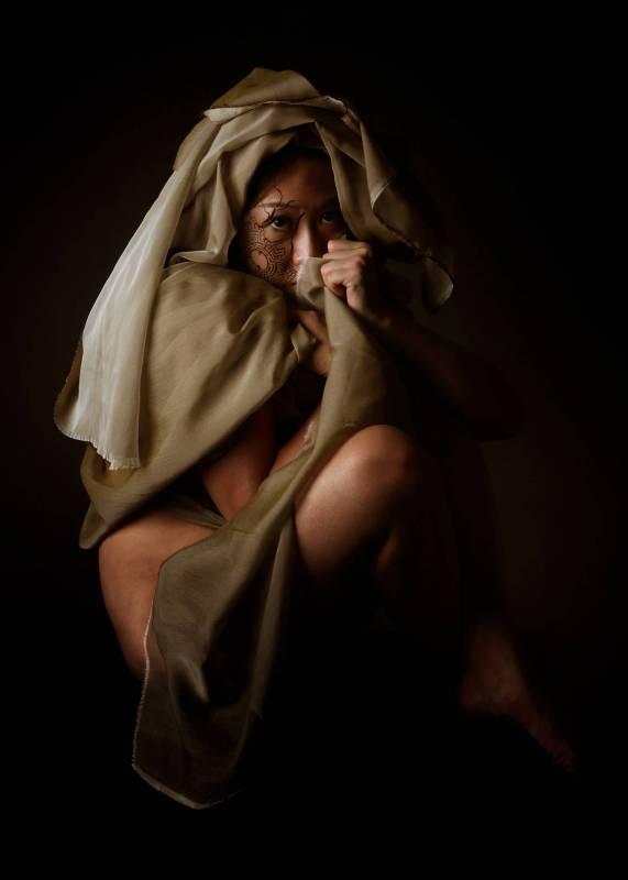 Patrice Delmotte & Baptiste Tavernier|Ariadne Daughter 4.0 |攝影 Body painting and Photograph | 60x42cm| 2017