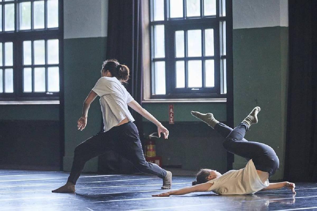 鄭皓《動量的條件》,攝影:陳又維。圖/松山文創園區提供。