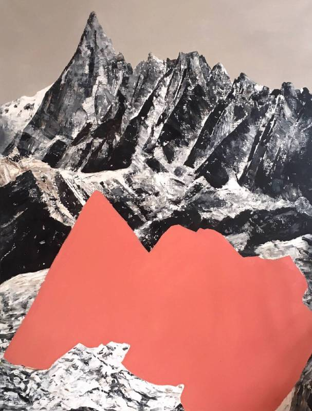 許常郁 冬盡春來2 2018 油彩、畫布 170×130cm
