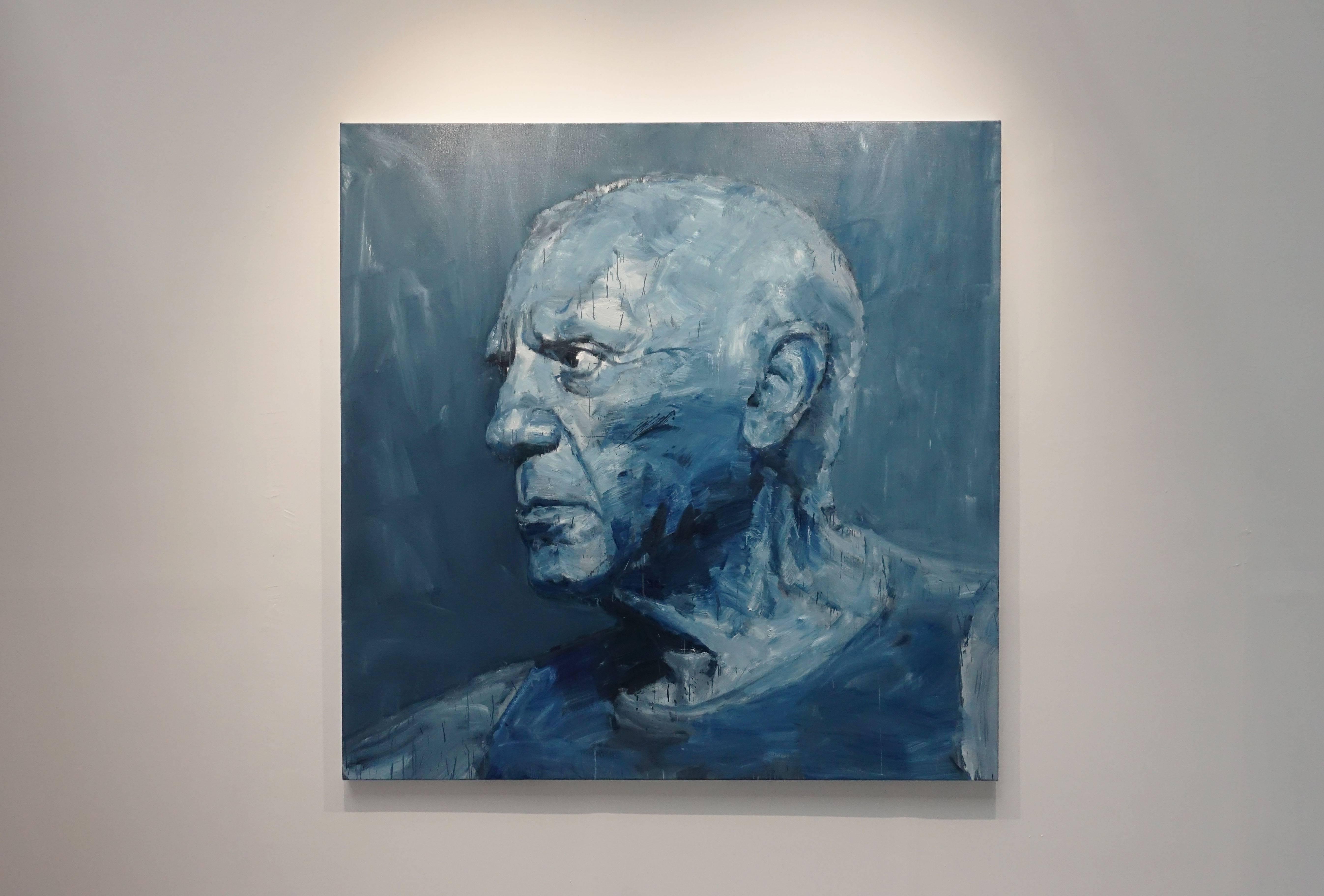 義大利MDC畫廊-嚴培明,《Blue Picasso藍色畢卡索》。