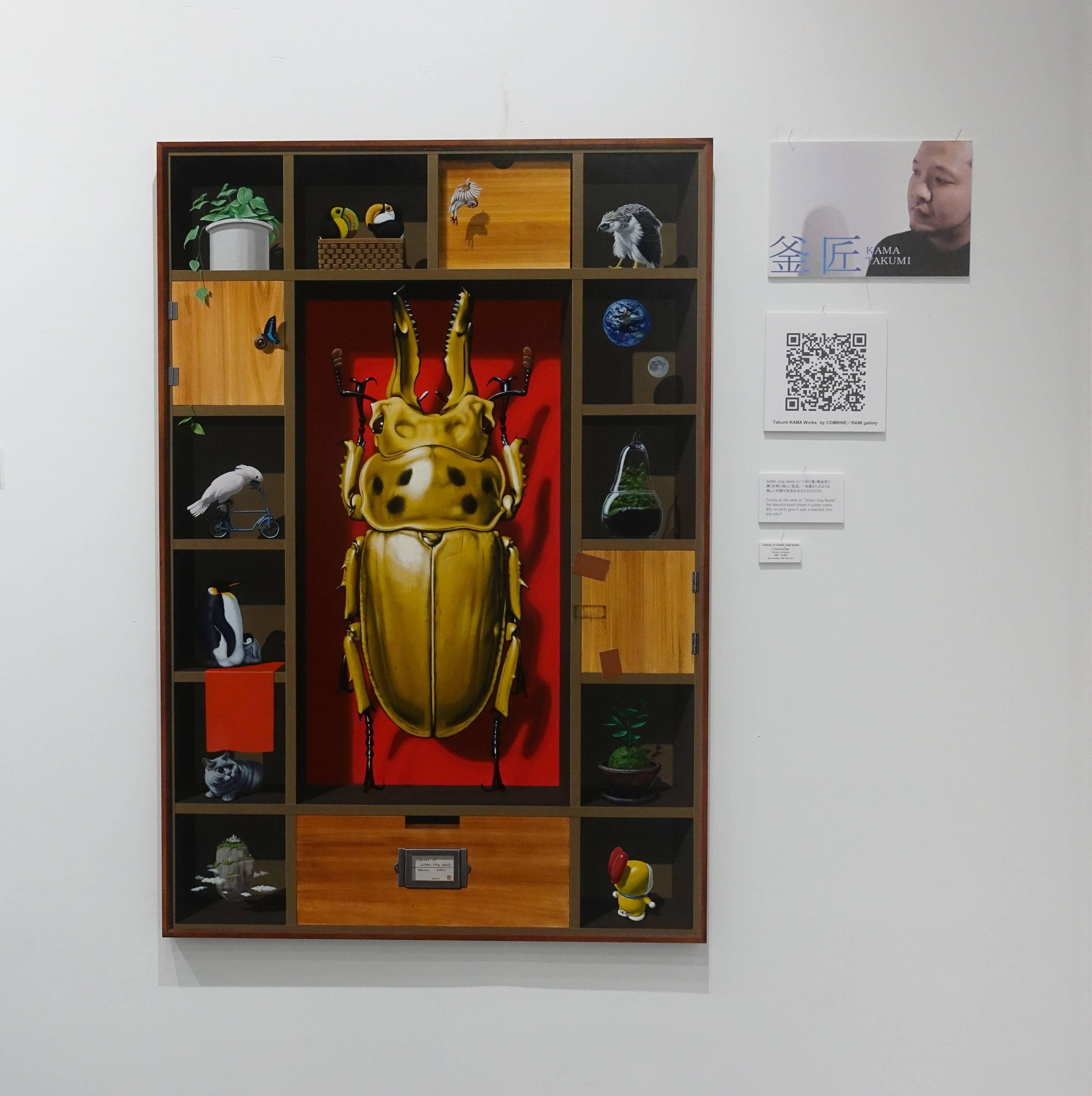 COMBINE / BAMI gallery-Takumi KAMA系列作品。