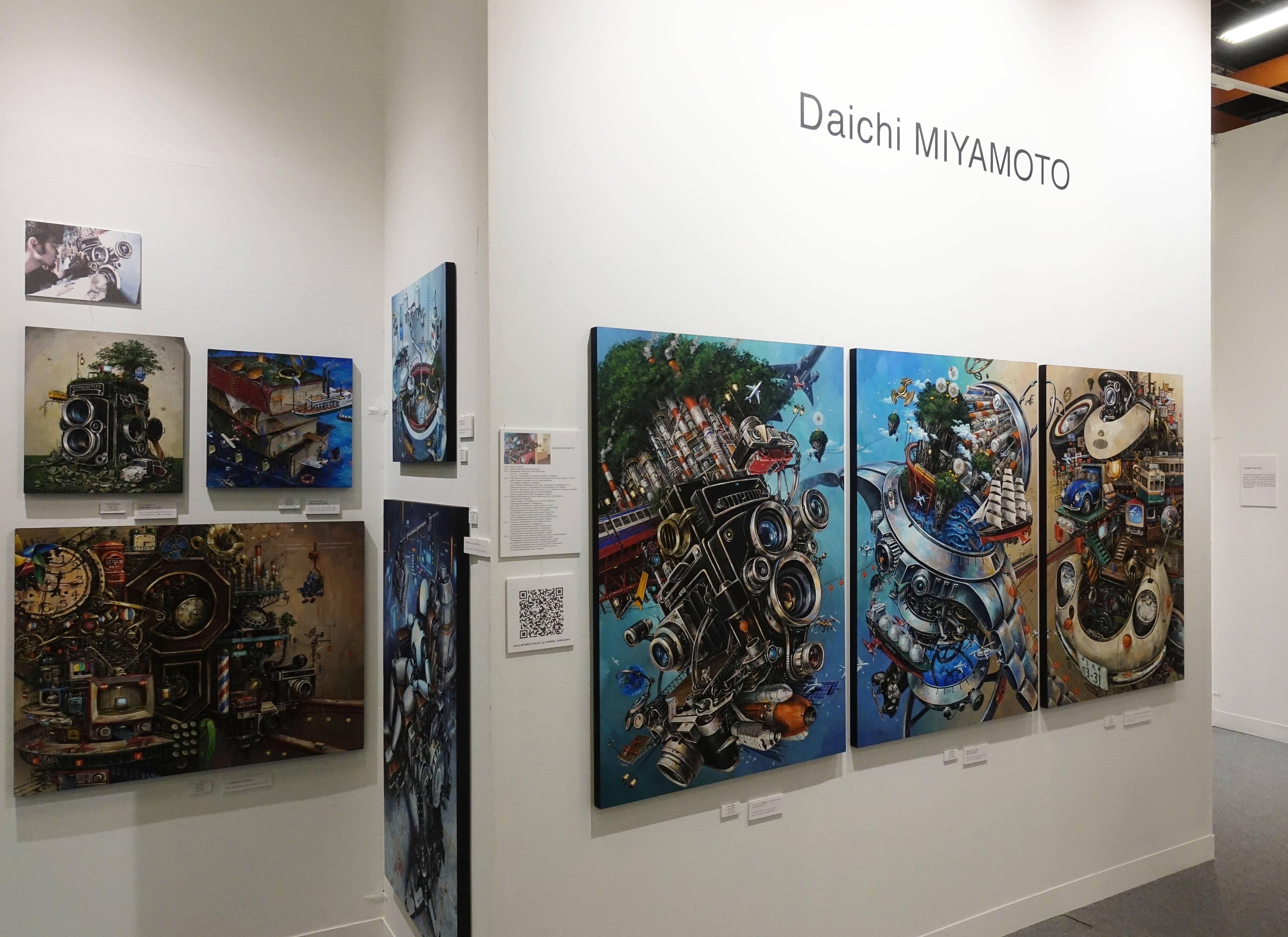 COMBINE / BAMI gallery現場。