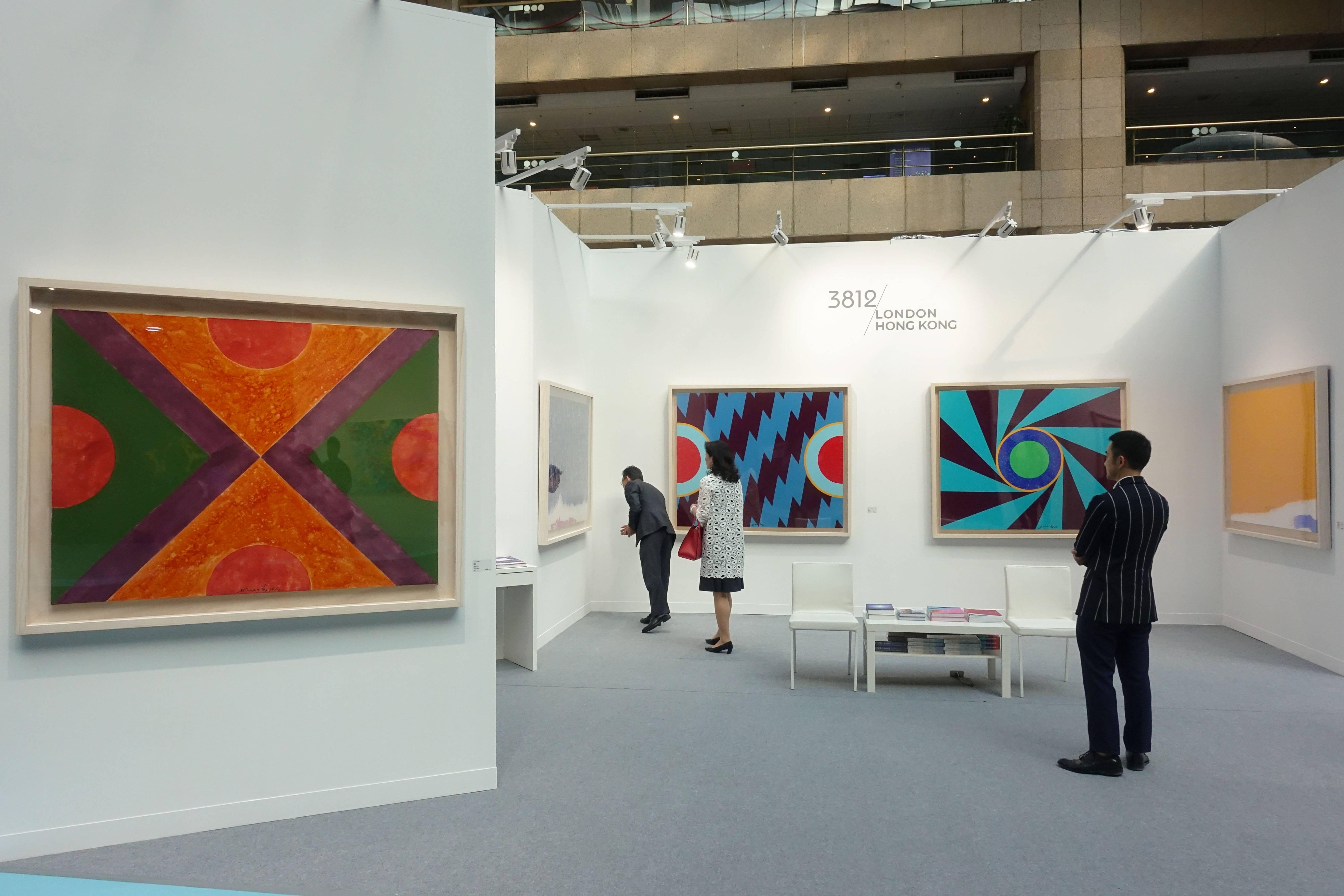 香港3812畫廊現場。