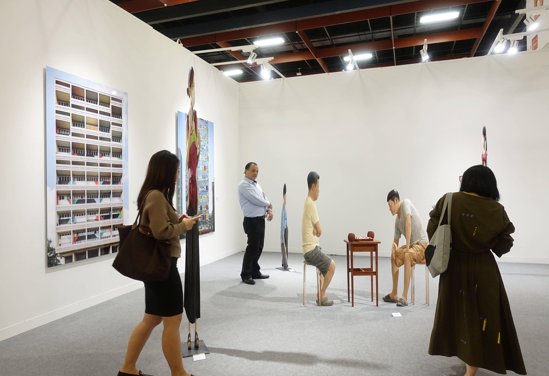 韓國GALLERY YEH畫廊現場。