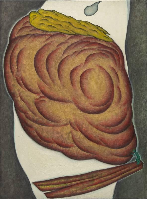 鄭建昌 1997 挪移 油彩畫布 97×130cm