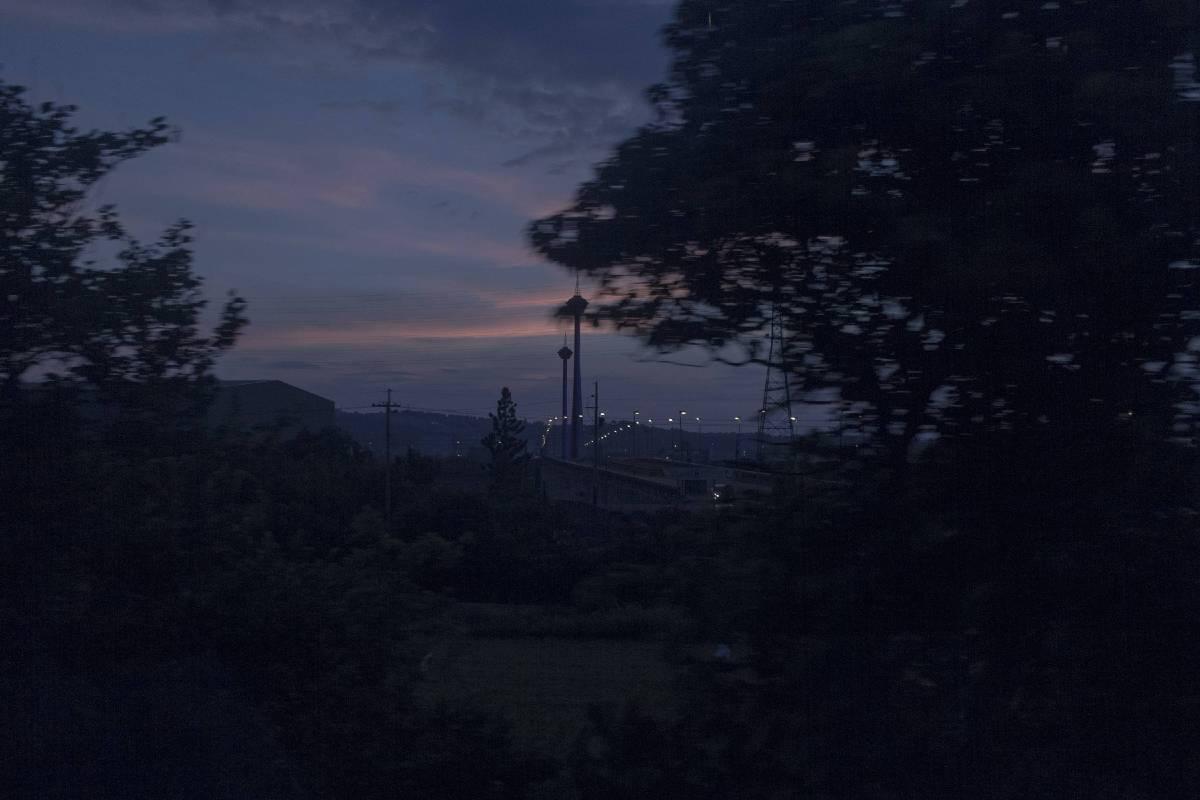 天使望鄉-世界第6座斜張橋, 藝術微噴、無酸相紙,  72x48cm, 2018