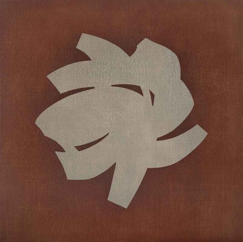 Symbol-107, 152x152cm, Oil on Canvas Board, 2016