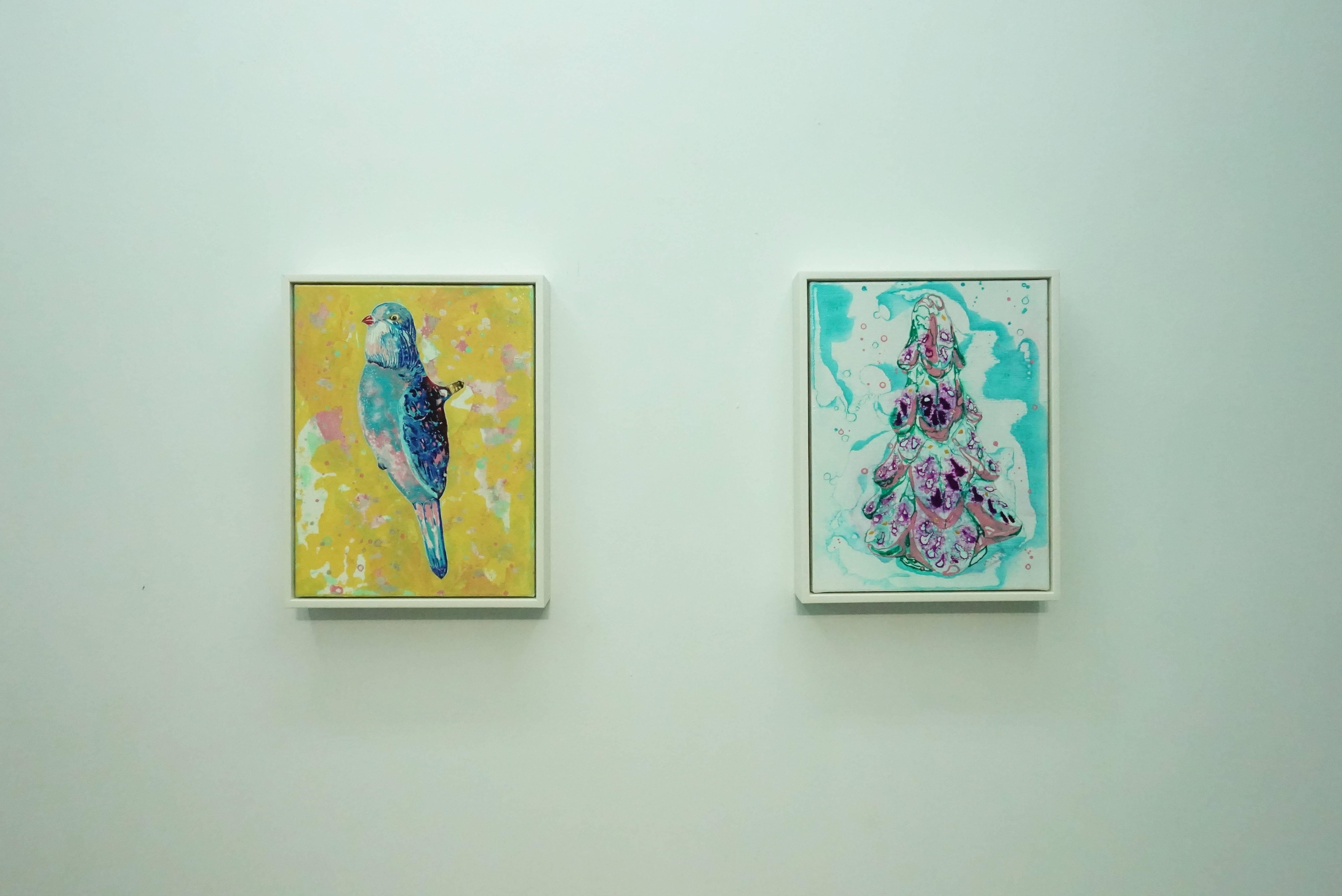 王亮尹展出作品。