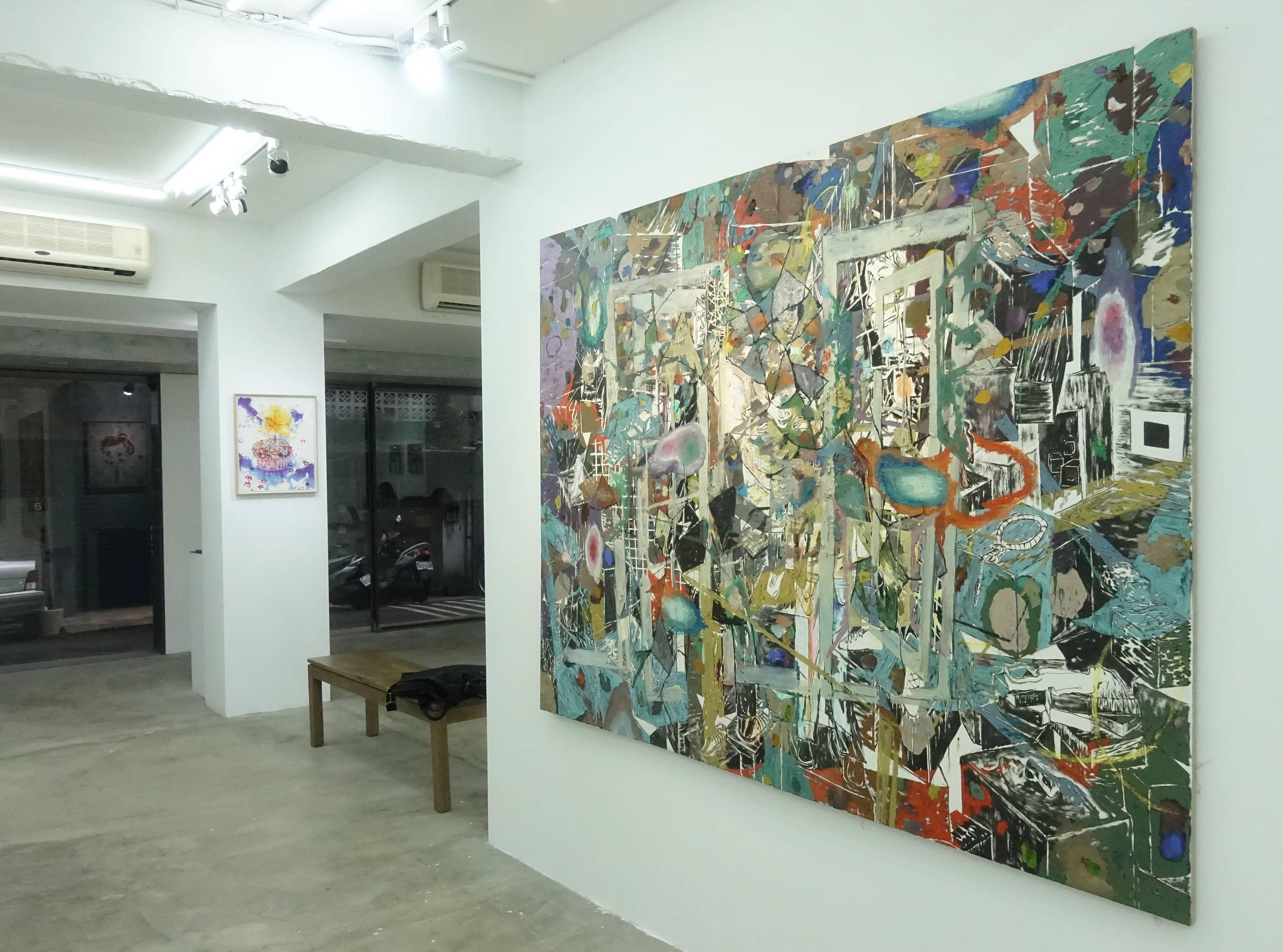 Kaspar Bonnén展出作品。