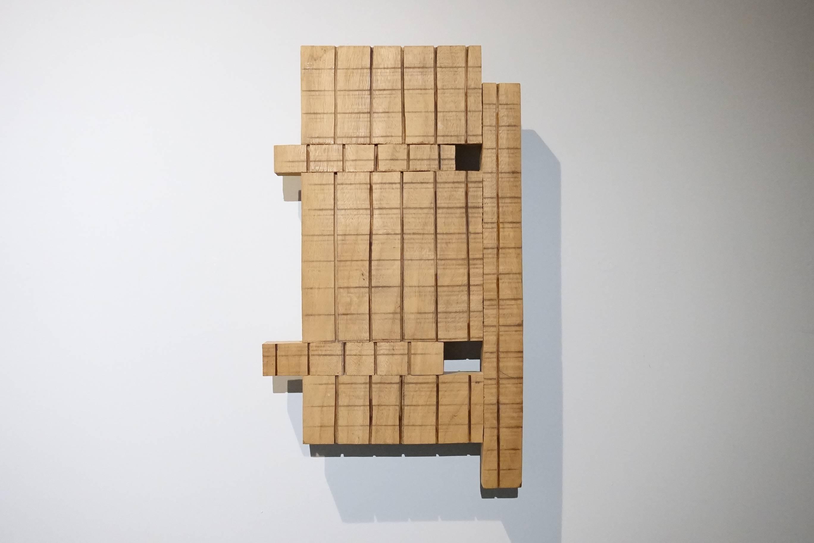菅木志雄 (SUGA Kishio )作品《分化與聚合》。
