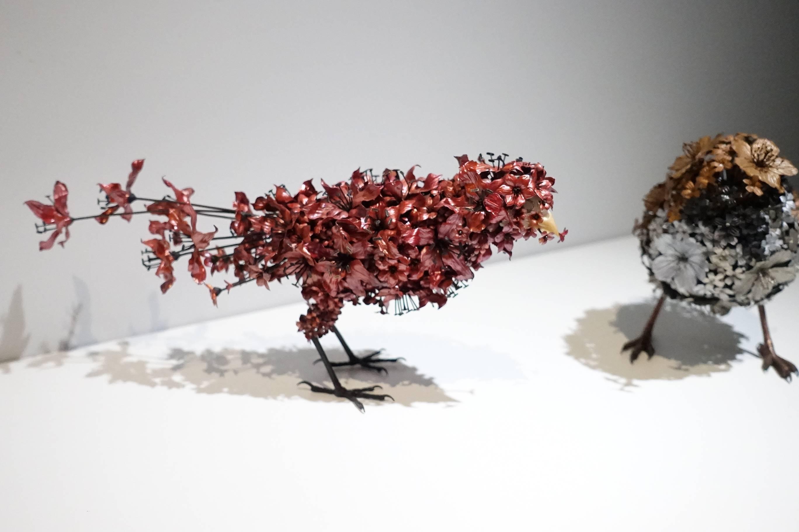吉田泰一郎 (YOSHIDA Taiichiro)作品《火鳥》。