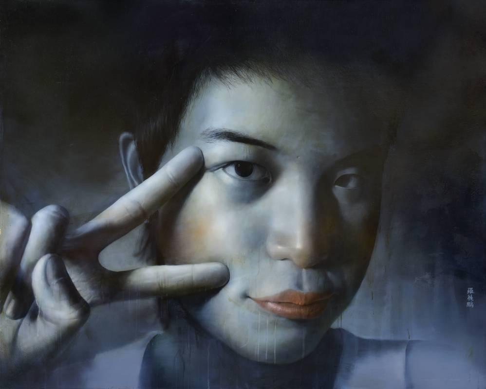羅展鵬|草莓族青春日誌1|2006|油彩|120x162cm