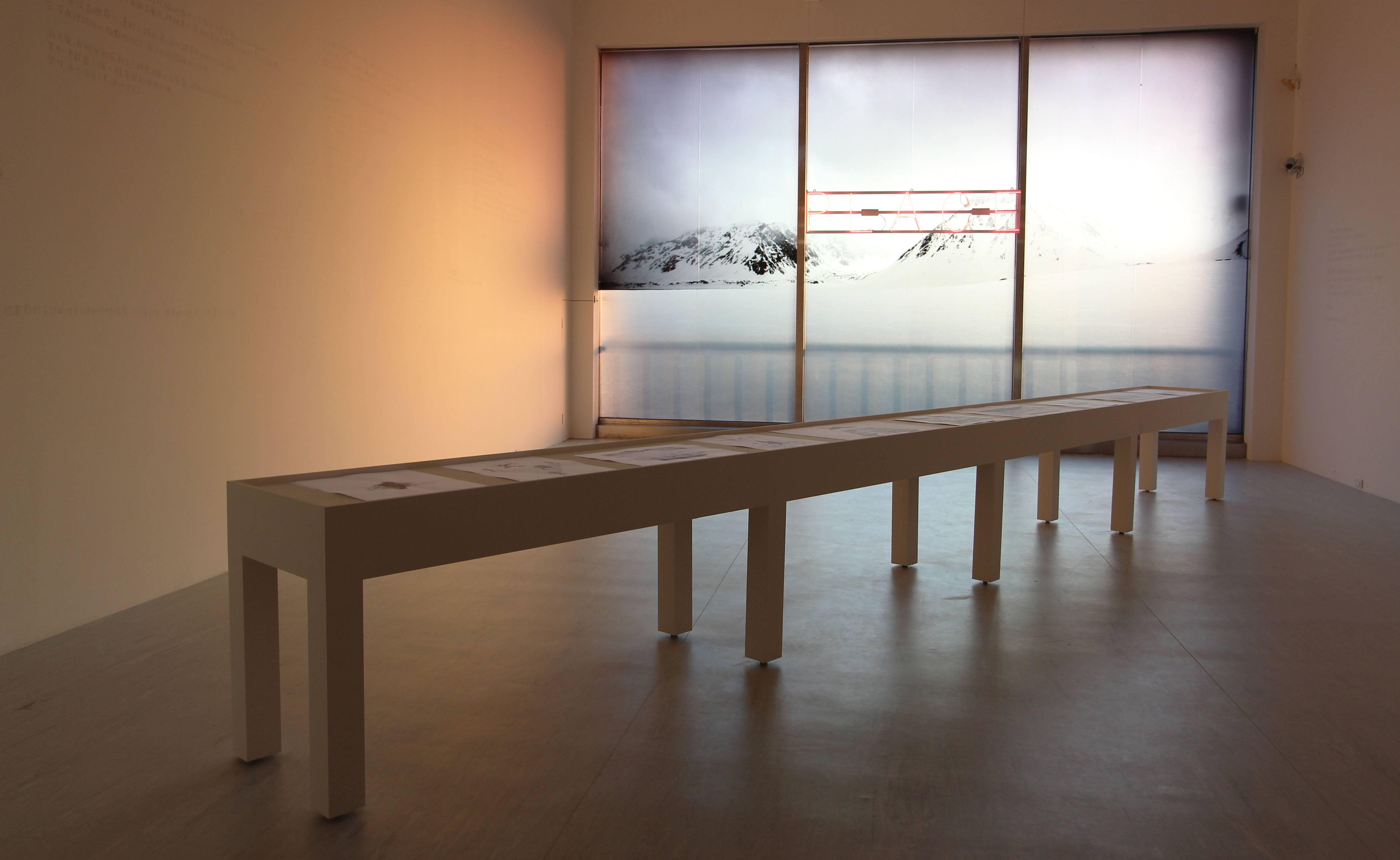 2018台北美術獎優選作品。張允菡,《其實我們什麼也不是》,複合媒材,尺寸依場地而定,2018。