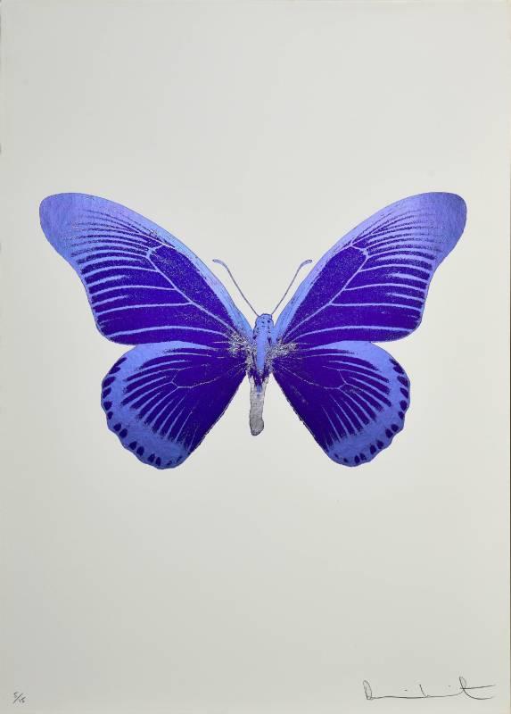 Damien Hirst|The souls IV|2010|Foilblock Print|72x51cm