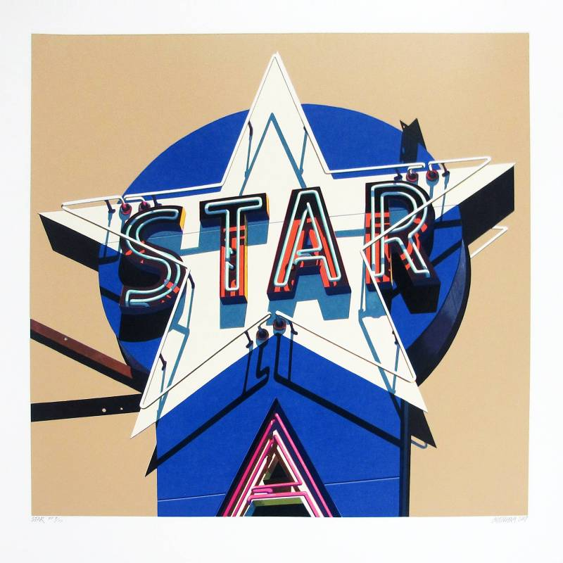 Robert Cottingham_Star